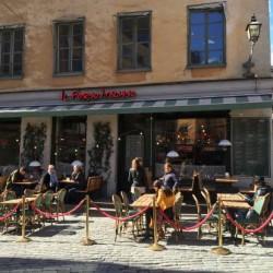 Restaurang Il Forno Italiano vid Järntorget, Gamla stan