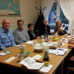 Varannan måndag har vi konversationskurs i meänkieli i Norra Hammarbyhamnen.