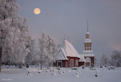 kyrka Hietaniemi