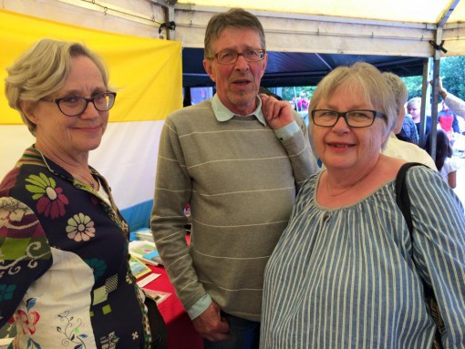 Elisabeth Berggård (Kangos), Bo Eriksson (Haparanda) och Tanja Henriksson (Tärendö).