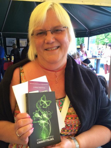 Nina Helmerud (Korpilombolo) hittade August Strindbergs bok Ett drömspel på meänkieli!
