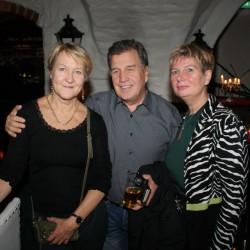Skådespelerskan Cecilia Nilsson från Dramaten (mamma fr Kangos), Hans Ylivainio och Nicole Lange (Kangos).